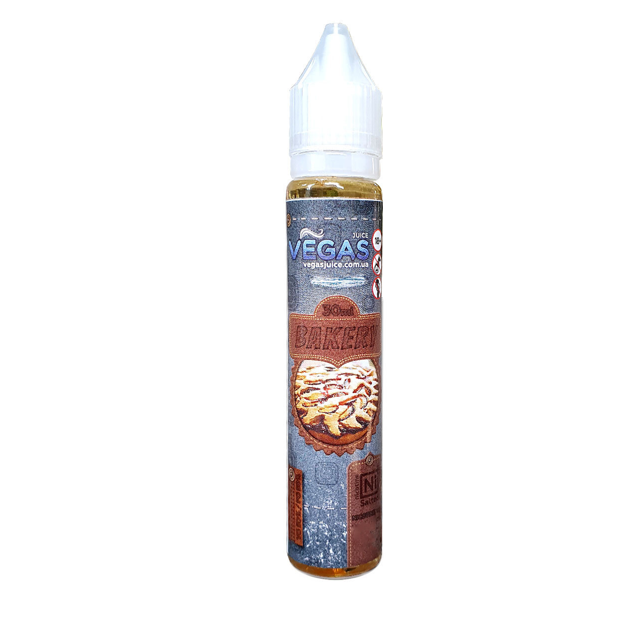 Жидкость для электронных сигарет Vegas Salt Bakery 45 мг 30 мл