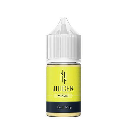 Жидкость для электронных сигарет Juicer Salt Vitamin 30 мг 30 мл, фото 2