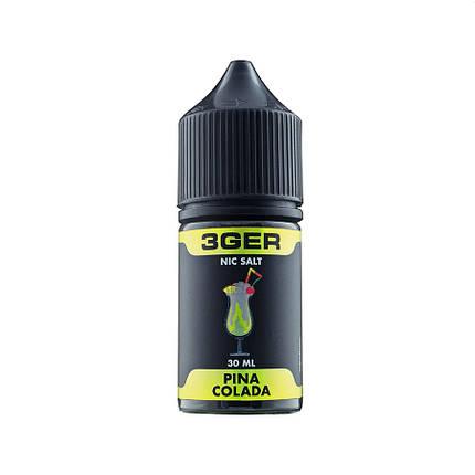 Жидкость для электронных сигарет 3Ger Salt Pina Colada 25 мг 30 мл, фото 2
