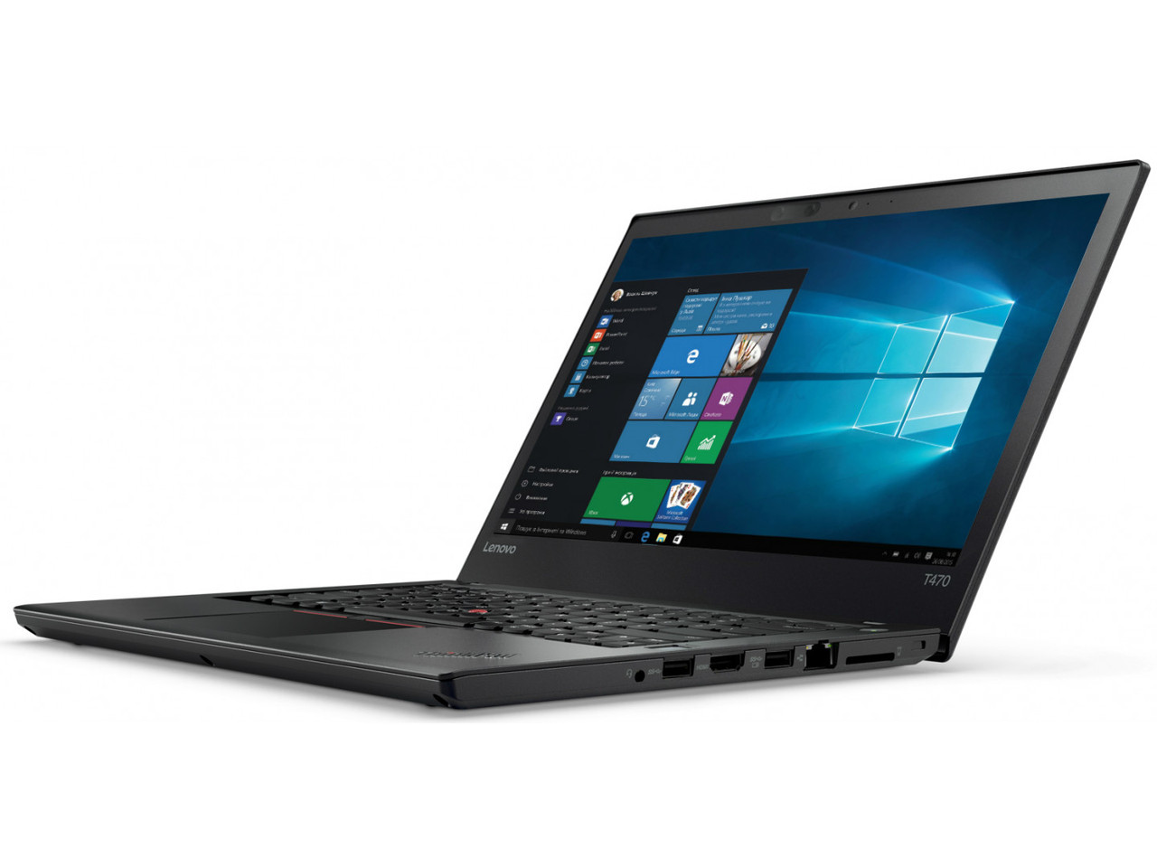 Ноутбук Lenovo ThinkPad T470-Intel Core i5-7300U-2.6GHz-4Gb-DDR4-128Gb-SSD-W14-IPS-FHD-Web-батерея-(B)- Б/У