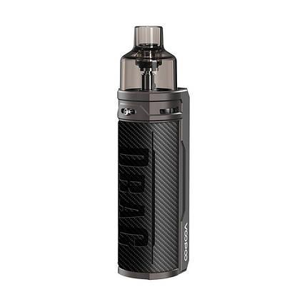 POD система Voopoo Drag S 60W Pod Kit Carbon Fiber, фото 2