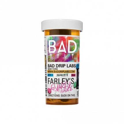 Жидкость для электронных сигарет Bad Drip Salt Farley's Gnarly Sauce 45 мг 30 мл, фото 2