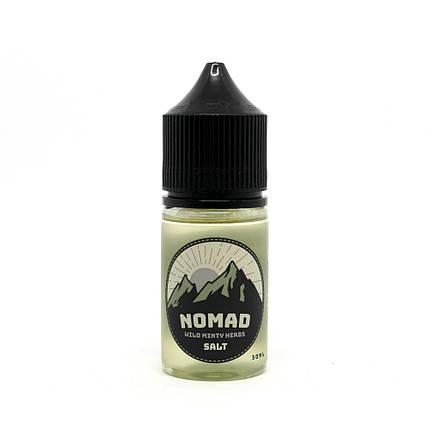 Жидкость для электронных сигарет NOMAD Salt Wild Minty Herbs 25 мг 30 мл, фото 2