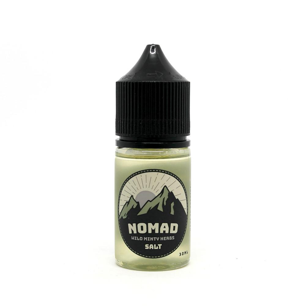 Жидкость для электронных сигарет NOMAD Salt Wild Minty Herbs 25 мг 30 мл
