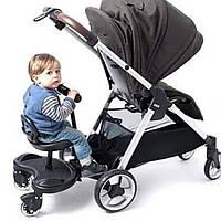 Підніжка універсальна CARRELLO Kiddy Board для другої дитини підходить для всіх європейських колясок.