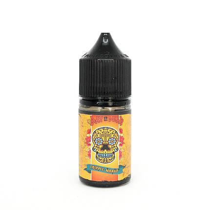 Жидкость для электронных сигарет Day of the Dead Salt Tripple Mango 40 мг 30 мл, фото 2