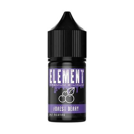 Жидкость для электронных сигарет Montana Element Salt Forest Berry 50 мг 30 мл, фото 2