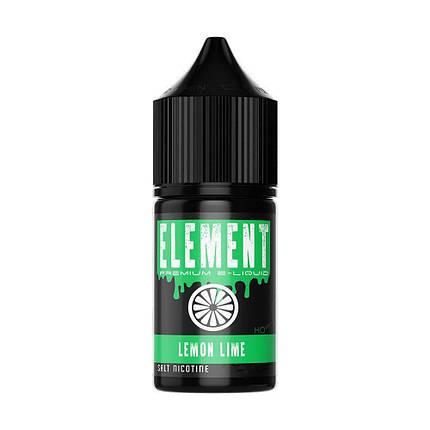 Жидкость для электронных сигарет Montana Element Salt Lemon Lime 50 мг 30 мл, фото 2