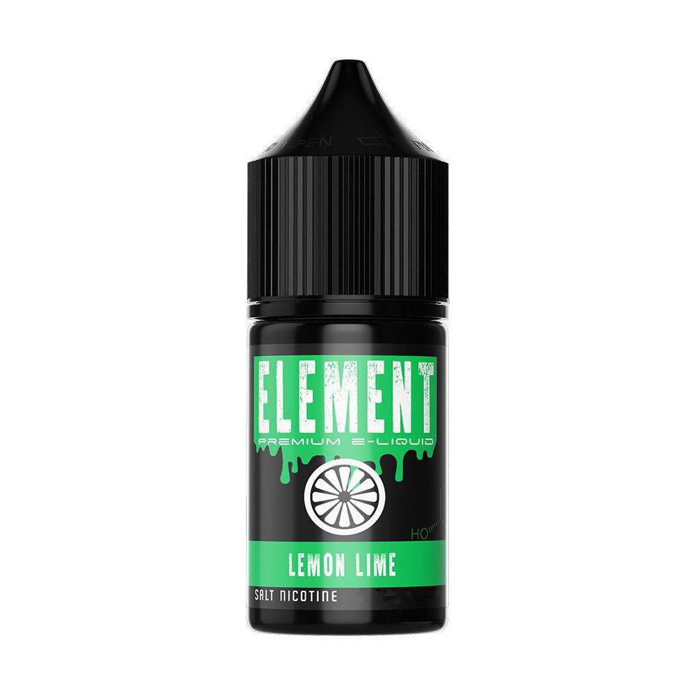 Жидкость для электронных сигарет Montana Element Salt Lemon Lime 50 мг 30 мл