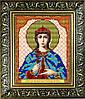 """Рисунок на ткани для вышивания бисером """"Святая Великомученица Ирина"""""""