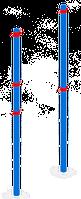 Волейбольные стойки KB-C64