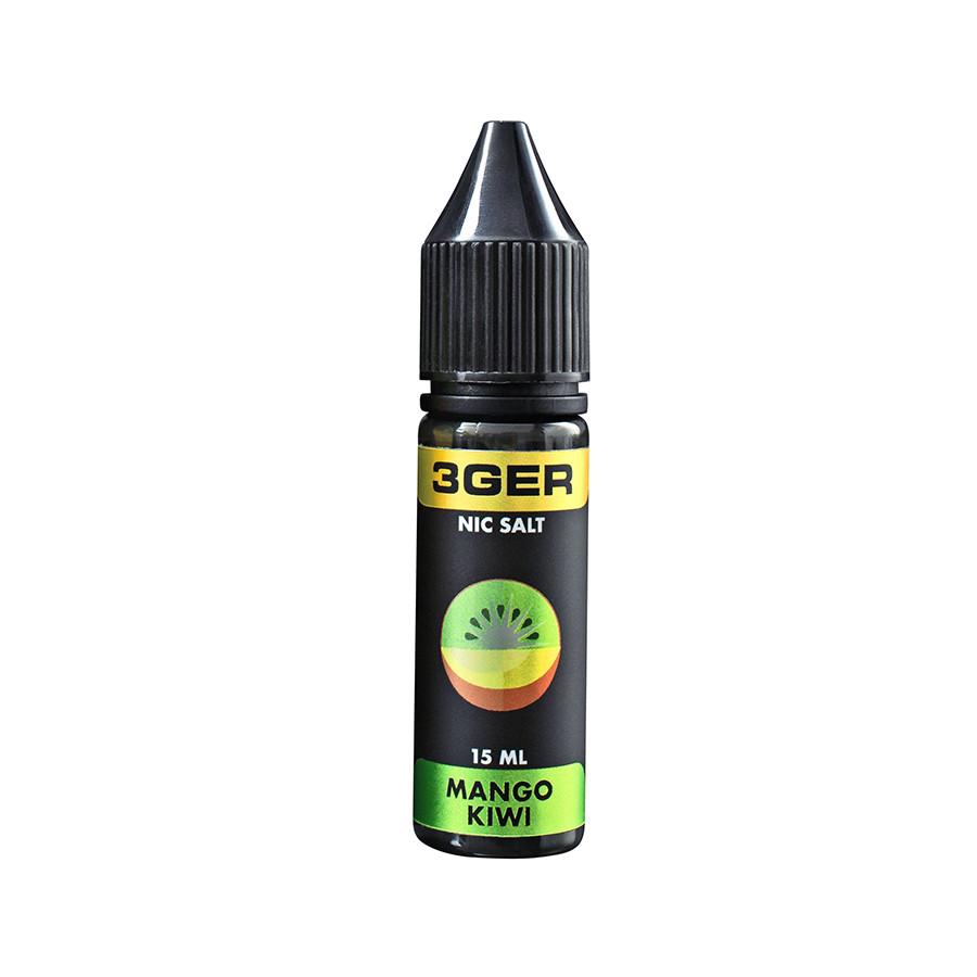 Жидкость для электронных сигарет 3Ger Salt Mango Kiwi 25 мг 15 мл