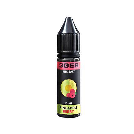 Жидкость для электронных сигарет 3Ger Salt Pineapple Berry 35 мг 15 мл, фото 2