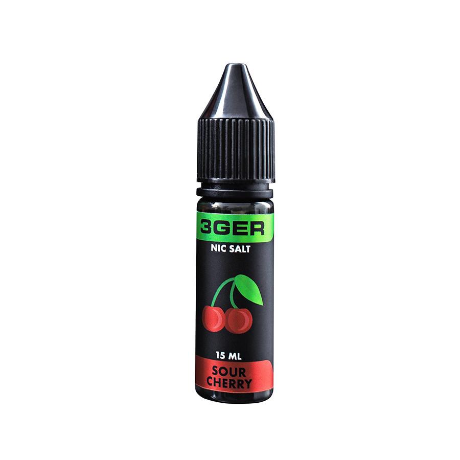 Жидкость для электронных сигарет 3Ger Salt Sour Cherry 35 мг 15 мл
