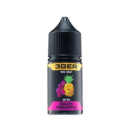 Жидкость для электронных сигарет 3Ger Salt Grape Pineapple 50 мг 30 мл, фото 2