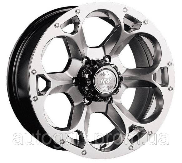 Racing Wheels H-276 8x17 6x139,7 ET 20 Dia 110 (супер серебро)