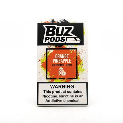 Картридж одноразовый BUZ Pods Cartridge 60 мг 1 мл 4 шт Orange Pineapple, фото 2