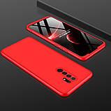 Пластиковая накладка GKK LikGus 360 градусов (opp) для Xiaomi Redmi 9, фото 3