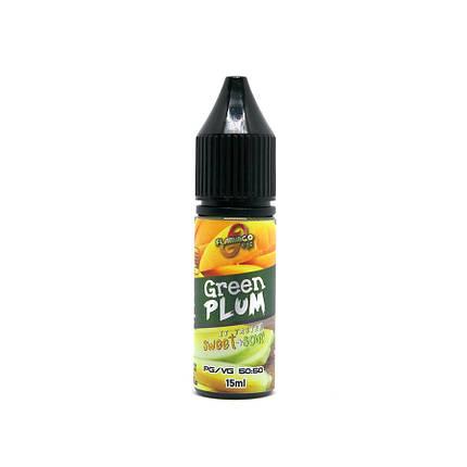 Жидкость для электронных сигарет Flamingo Salt Green Plum 50 мг 15 мл, фото 2