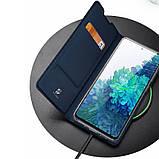 Чехол-книжка Dux Ducis с карманом для визиток для Samsung Galaxy S20 FE, фото 5