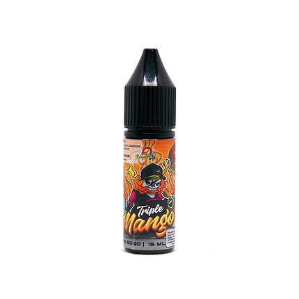 Жидкость для электронных сигарет Flamingo Salt Triple Mango 35 мг 15 мл, фото 2