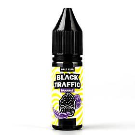 Жидкость для электронных сигарет Black Triangle Salt Black Traffic Bananaz 50 мг 15 мл