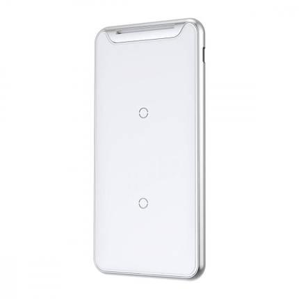Беспроводное ЗУ Baseus Three-coil With Desktop Holder 10W + Type-C Cable white, фото 2