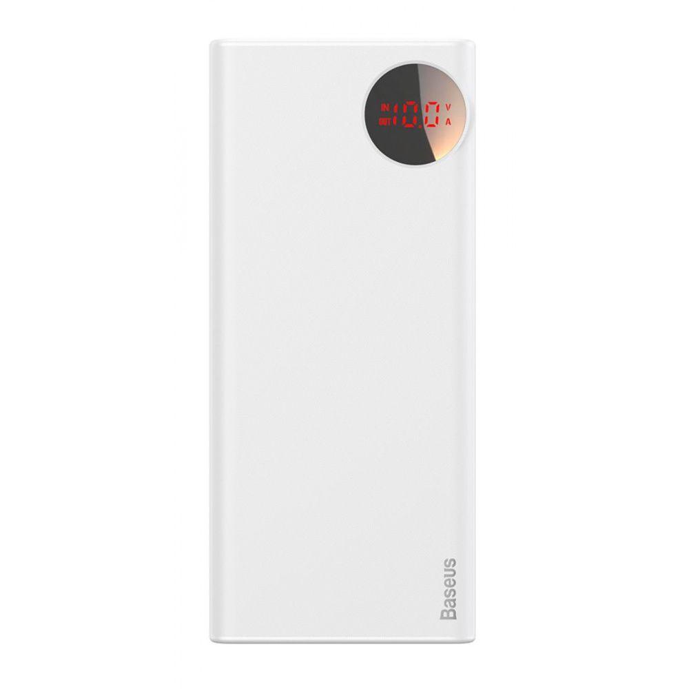УМБ Baseus Mulight PD QC3.0 20000mAh белый