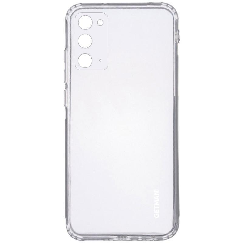 TPU чехол GETMAN Clear 1,0 mm для Samsung Galaxy Note 20