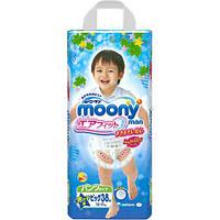 Moony подгузники – трусики Air Fit Big (12-17) кг, 38 шт. для мальчика