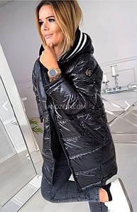 """Женская суперстильная курточка """" Лаки"""" Плащевка лак, синтепон 300 42-44, 44-46, 46-48."""