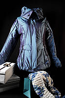 Куртка женская зимняя хамелион