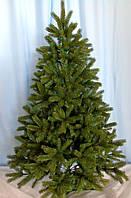 Ель искусственная литая зеленая 2.1 м., фото 1