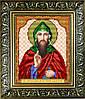 """Рисунок на ткани для вышивания бисером """"Св.Преподобный Антоний"""""""