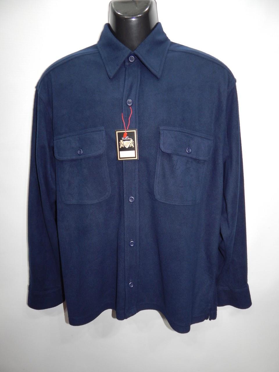 Мужская теплая флисовая рубашка Great Nothwest оригинал р.48-50 061RT