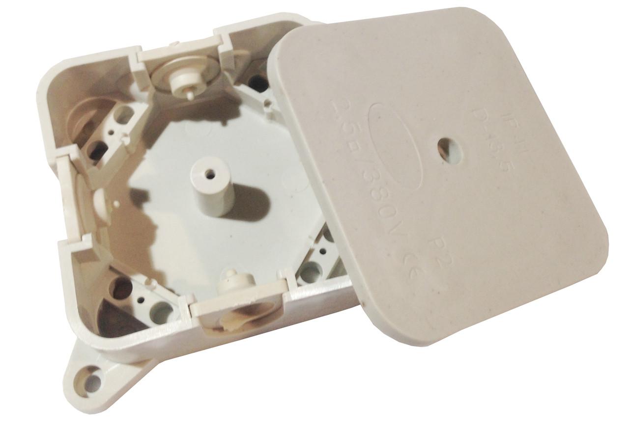 Коробка розподільча Р2 без клеми 90х90х45мм IP44
