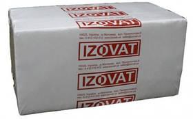 Базальтовый утеплитель Izovat 65 (Изоват) для вентилируемого фасада 100мм