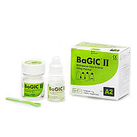 BaGIC II (Бейджик), 2 флакона, стеклоиономерный цемент, Spident