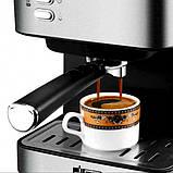 Кофемашина полуавтоматическая 850W с капучинатором DSP Espresso Coffee Maker, фото 2