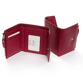 Женский кошелек маленький DR. BOND WS-3 plum-red