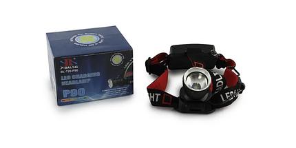 Мощный налобный фонарик Bailong BL-T20 - P90 2 аккумулятора 17600, фото 3