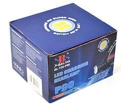 Мощный налобный фонарик Bailong BL-T20 - P90 2 аккумулятора 17600, фото 2