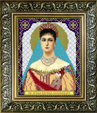 """Рисунок на ткани для вышивания бисером """"Св. Мученица Царица Александра"""", фото 2"""