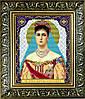 """Рисунок на ткани для вышивания бисером """"Св. Мученица Царица Александра"""""""