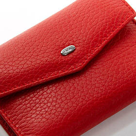 Женский кошелек маленький DR. BOND WS-3 red
