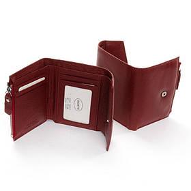 Женский кошелек маленький DR. BOND WS-3 dark-red