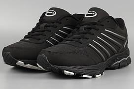 Кросівки чоловічі чорні Bona 659D Бона Розміри 41 42
