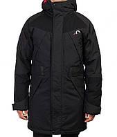 Длинная зимняя мужская куртка