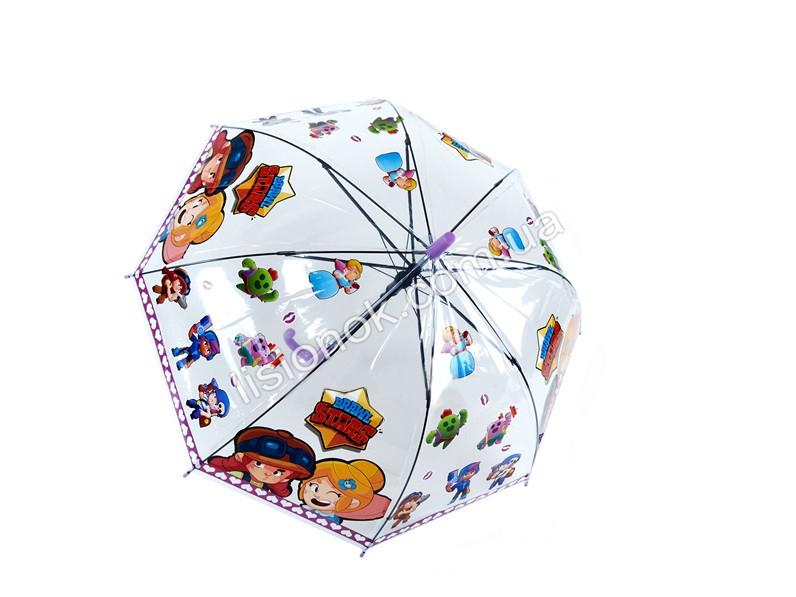 Зонт Старс, детский зонтик Stars с героями любимой игры