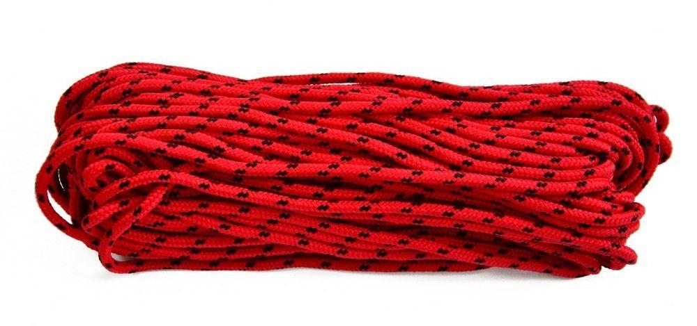 Шнур поліпропіленовий плетений, D 6 мм, 50 м, (Україна)